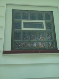 Glass Block Bathroom Window