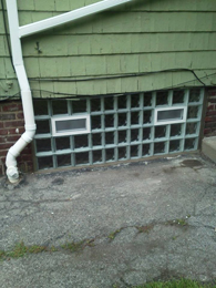 Window with two vents