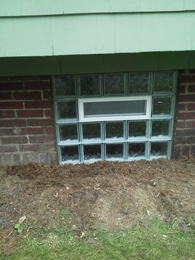 Better security with Glass Block windows